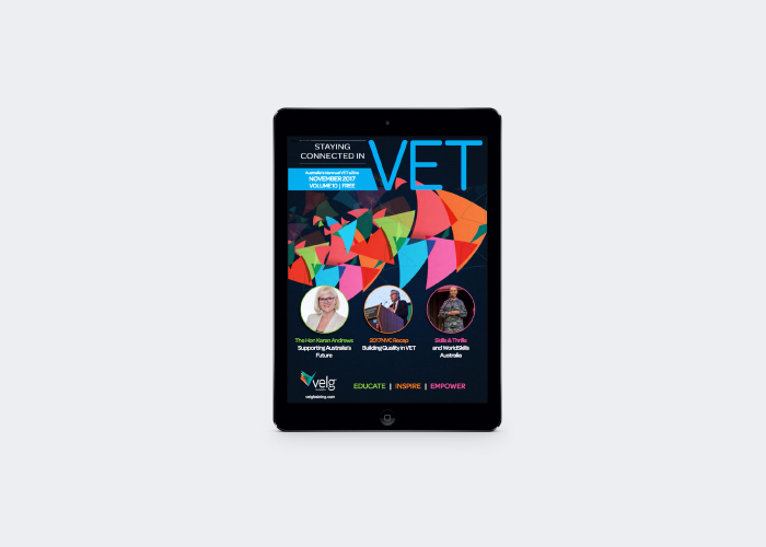 Volume 10 Staying Connected in VET eZine Released image